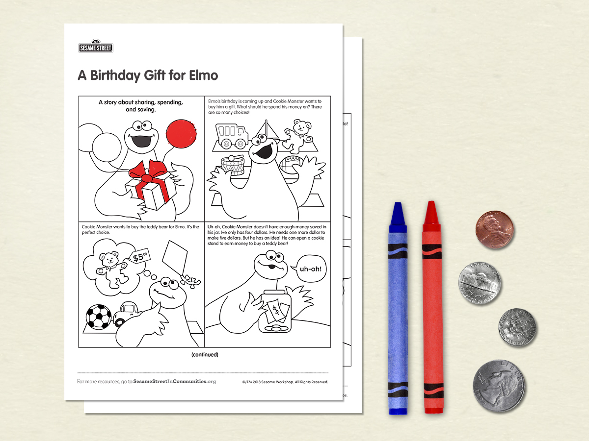 A Birthday Gift For Elmo