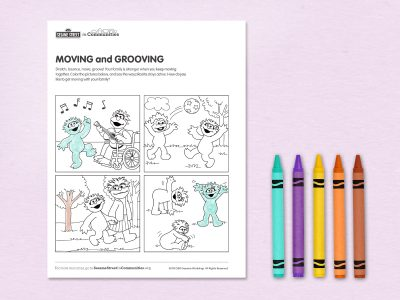 Moving and Grooving printable